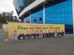 backdrop banner boas vindas