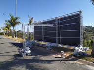 painel backdorp externa