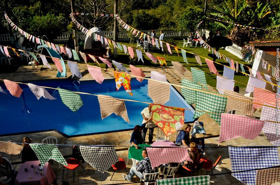 decoração festa juina