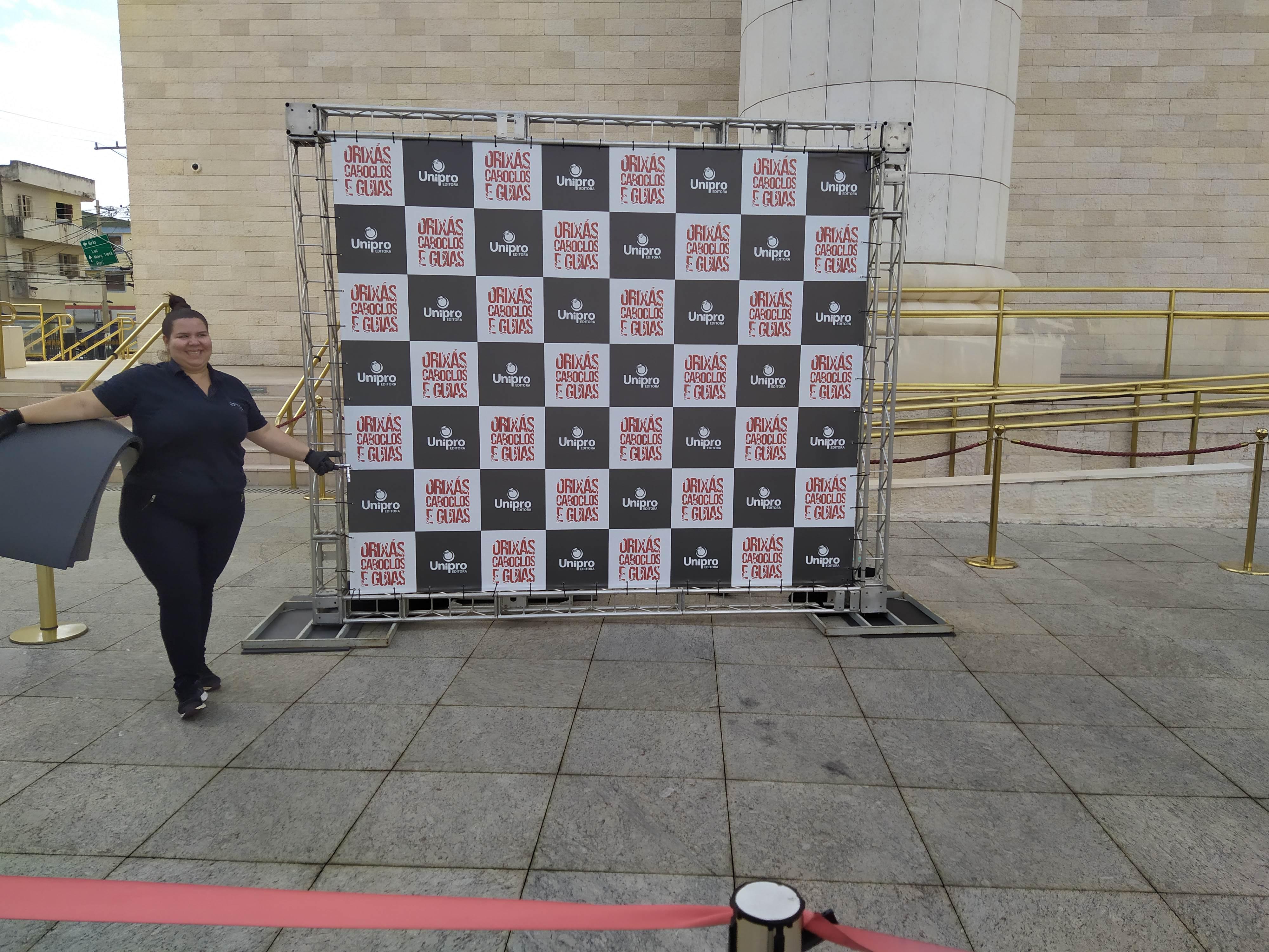 backdrop banner  em são paulo