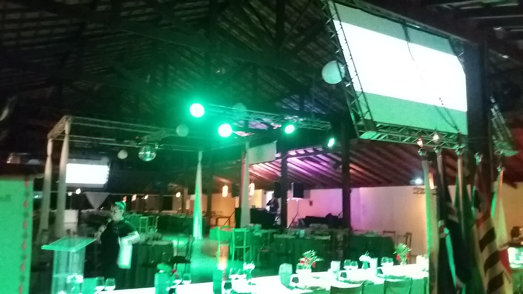 iluminação congresso