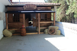 entrada de saloon festa junina