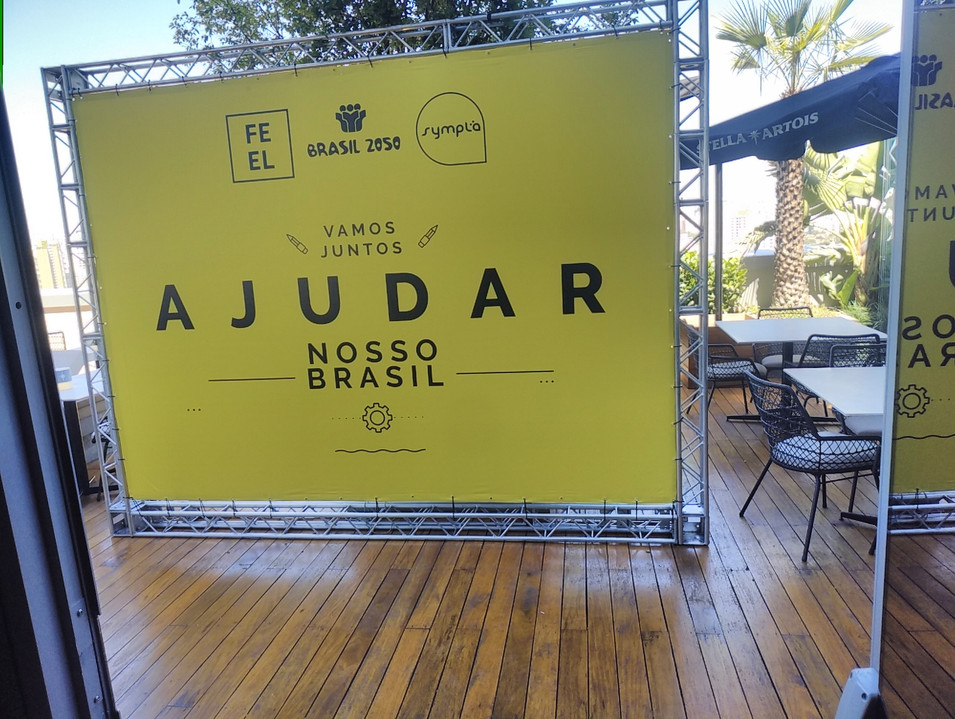 backdrop evento