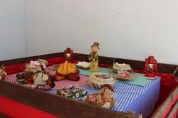 mesa temática festa junina