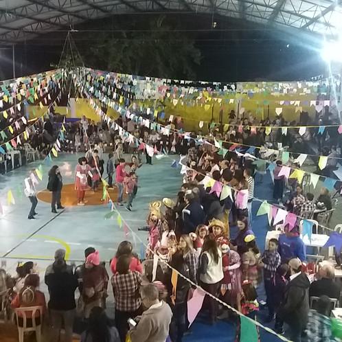 Festa junina zona norte