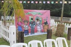backdrop festa junina