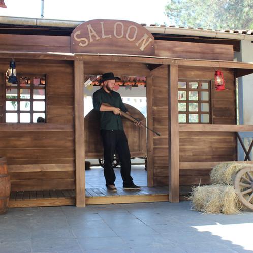 saloon decoração