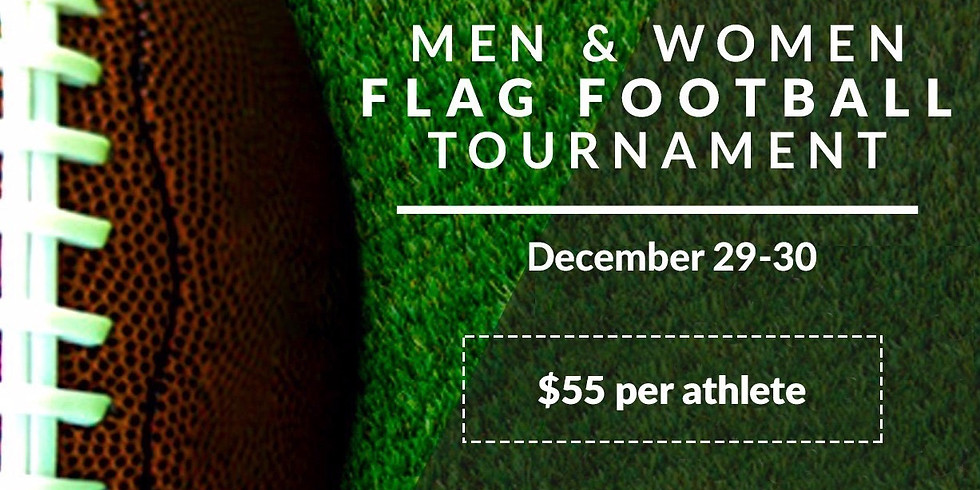 Men and Women Flag Football Tournament
