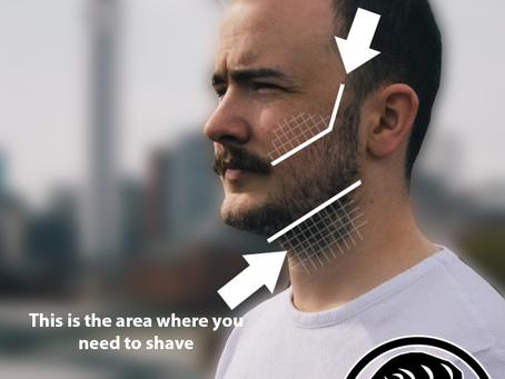 Where should my Beard Neckline be?