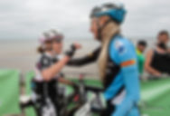 Dana Rožlapa, UCI XCMS 1.vieta Jūrmalas Maratonā, Catherine Williamson