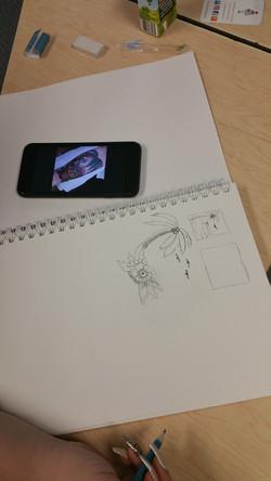 pathways drawing 3