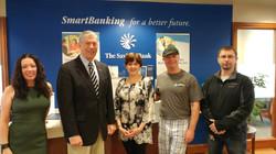 savings bank donates to PAL center Maxwe