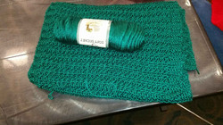 green scarf library crochet class nov 20