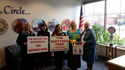 The Savings Bank co-sponsors Knitting Tr
