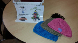 1st items donated library after crochet