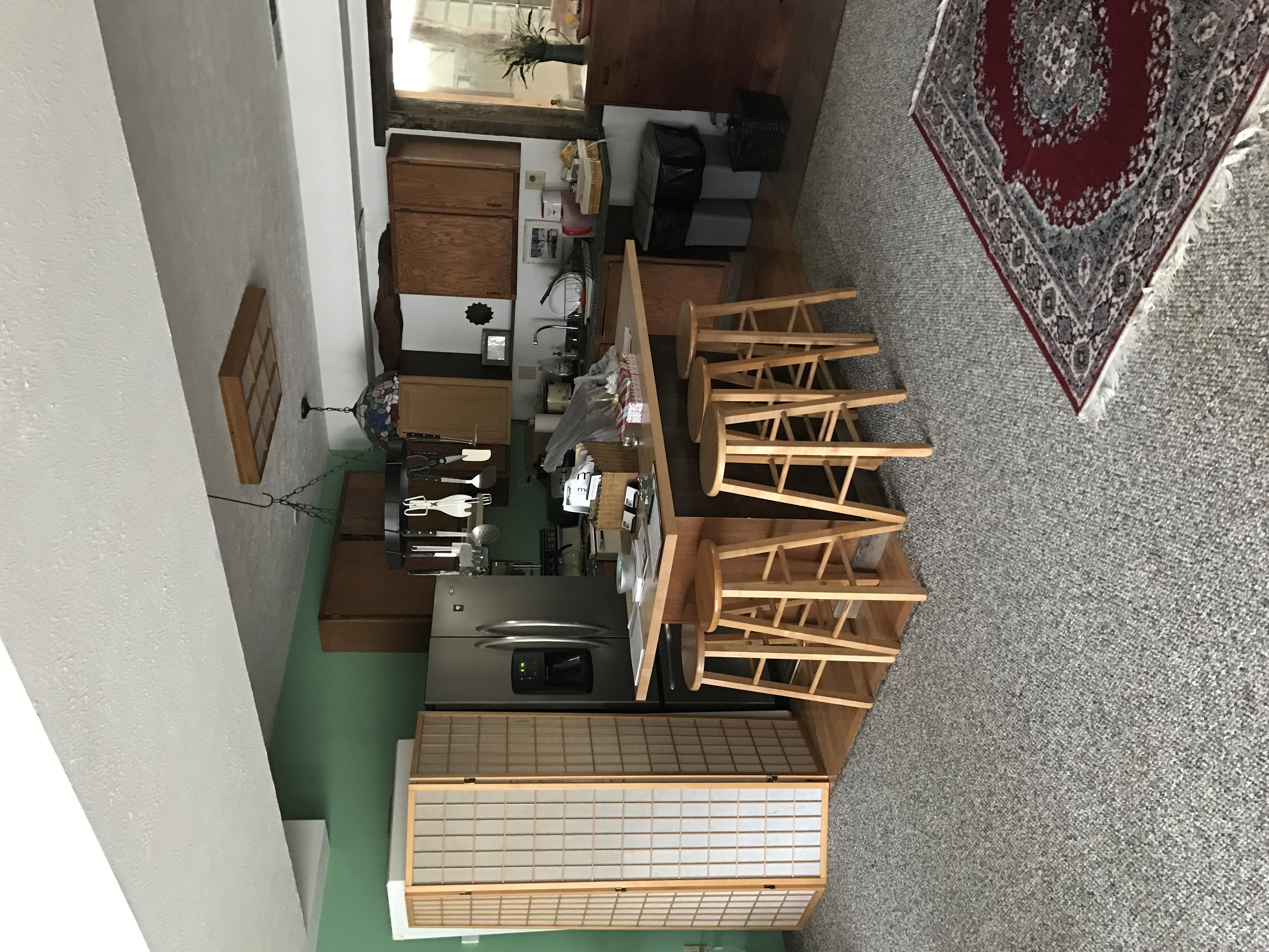 Kitchen in Yoga Center