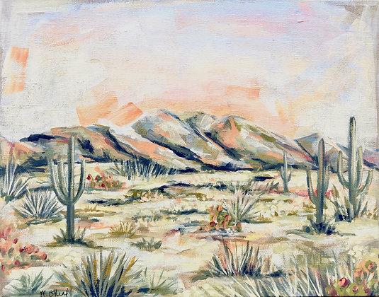 Orange Desert