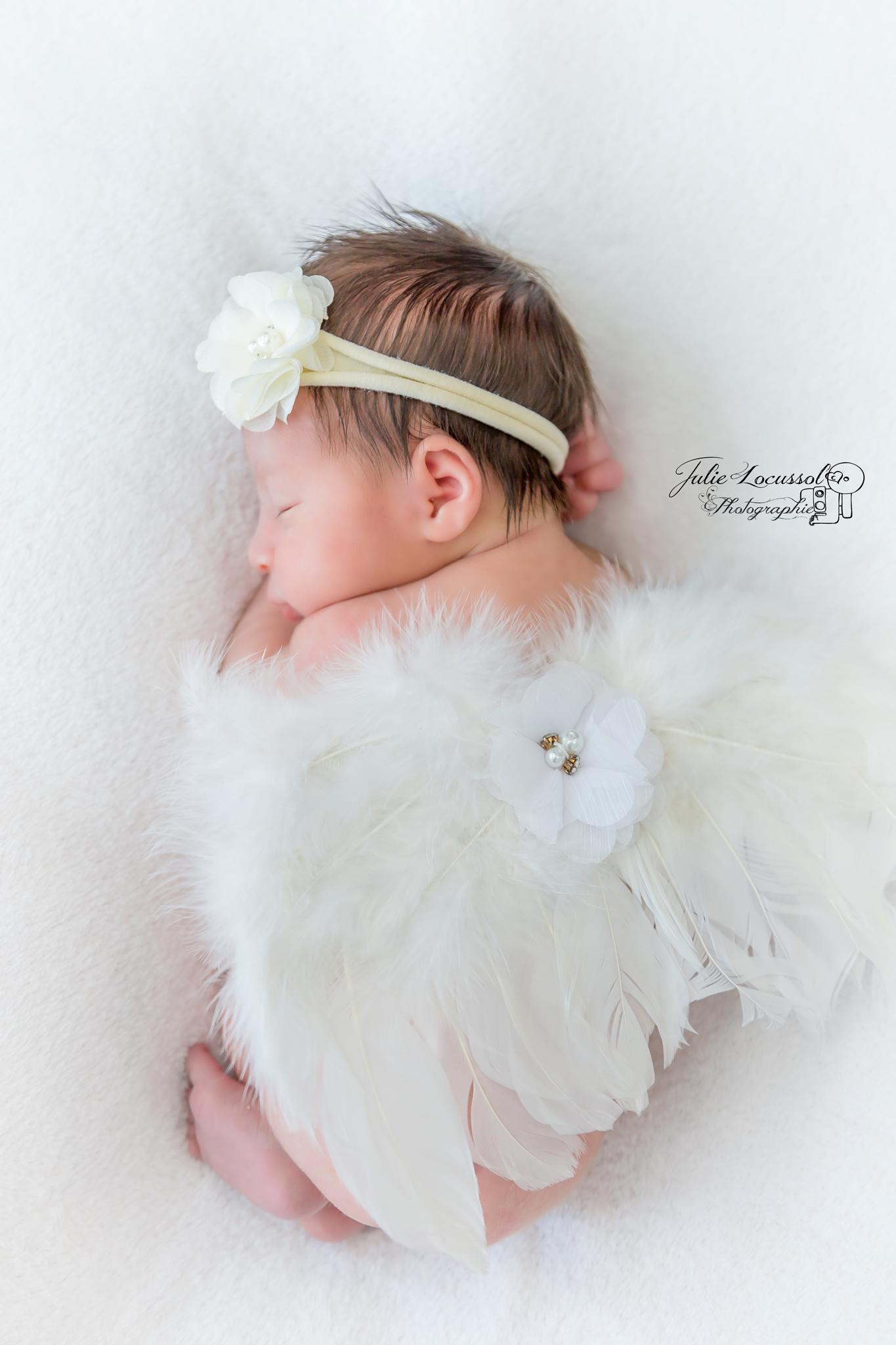 photo de bébé ange