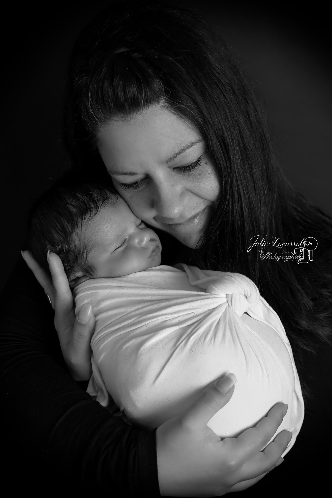 Pose photo maman bébé