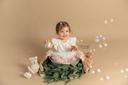 Photographe bébé artistique Charente