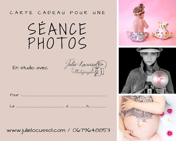 Carte cadeau photo Charente Angoulême