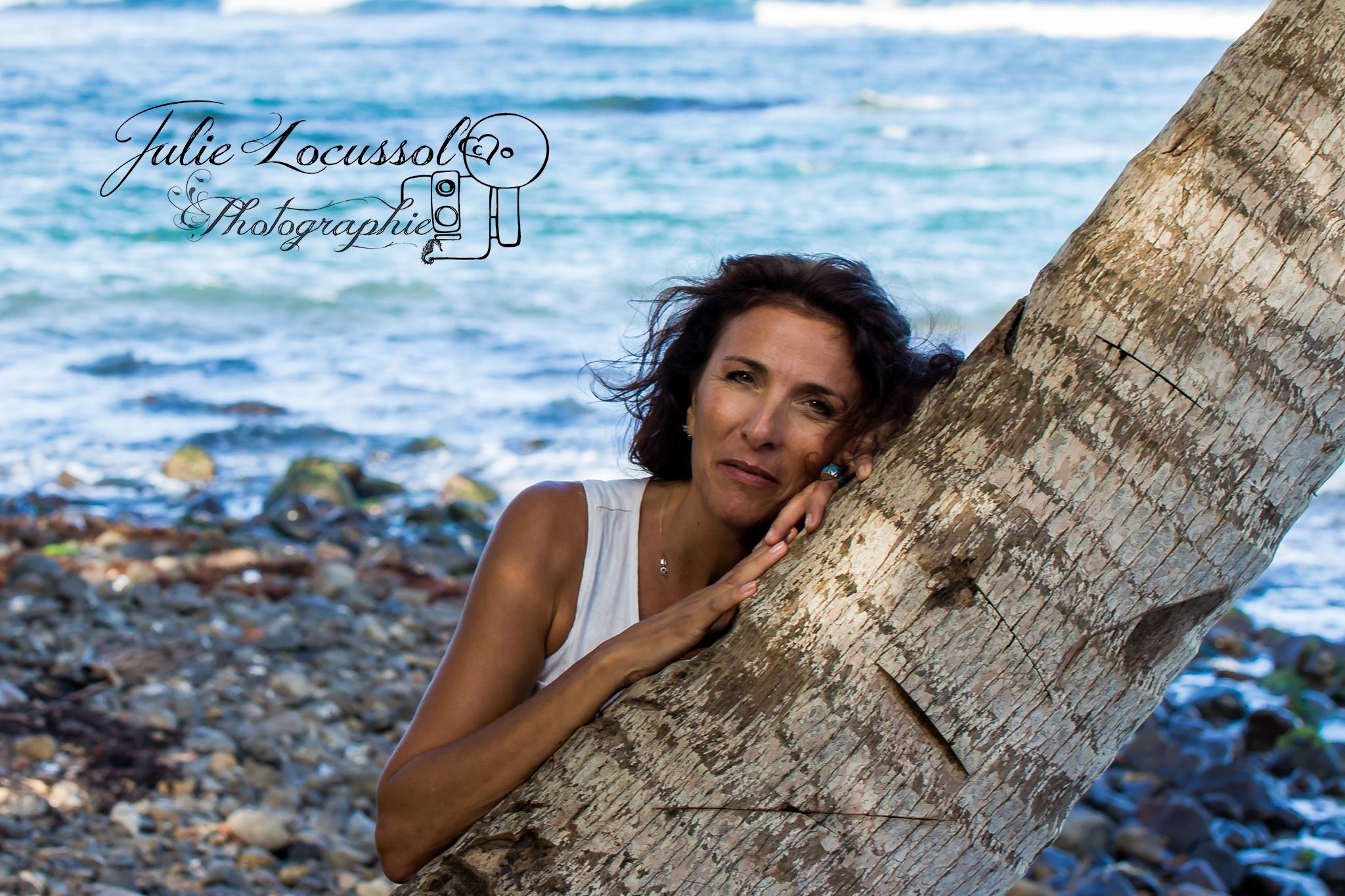 Portrait de femme plage Charente