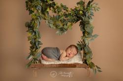 Photo bébé sur balançoire charente