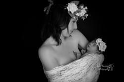 Photo bébé maman Nontron