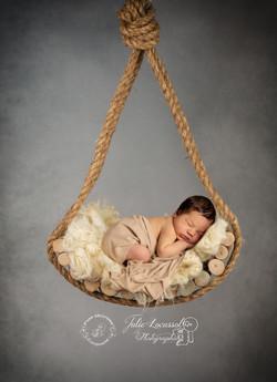 Photo bébé balançoire
