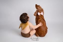 Photographe bébé chien Angoulême