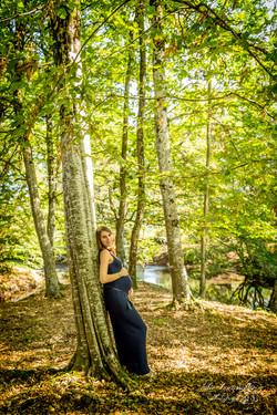 Grossesse en forêt