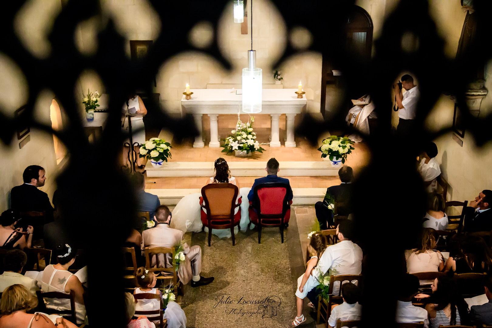 Cérémonie mariage vu d'ailleurs...