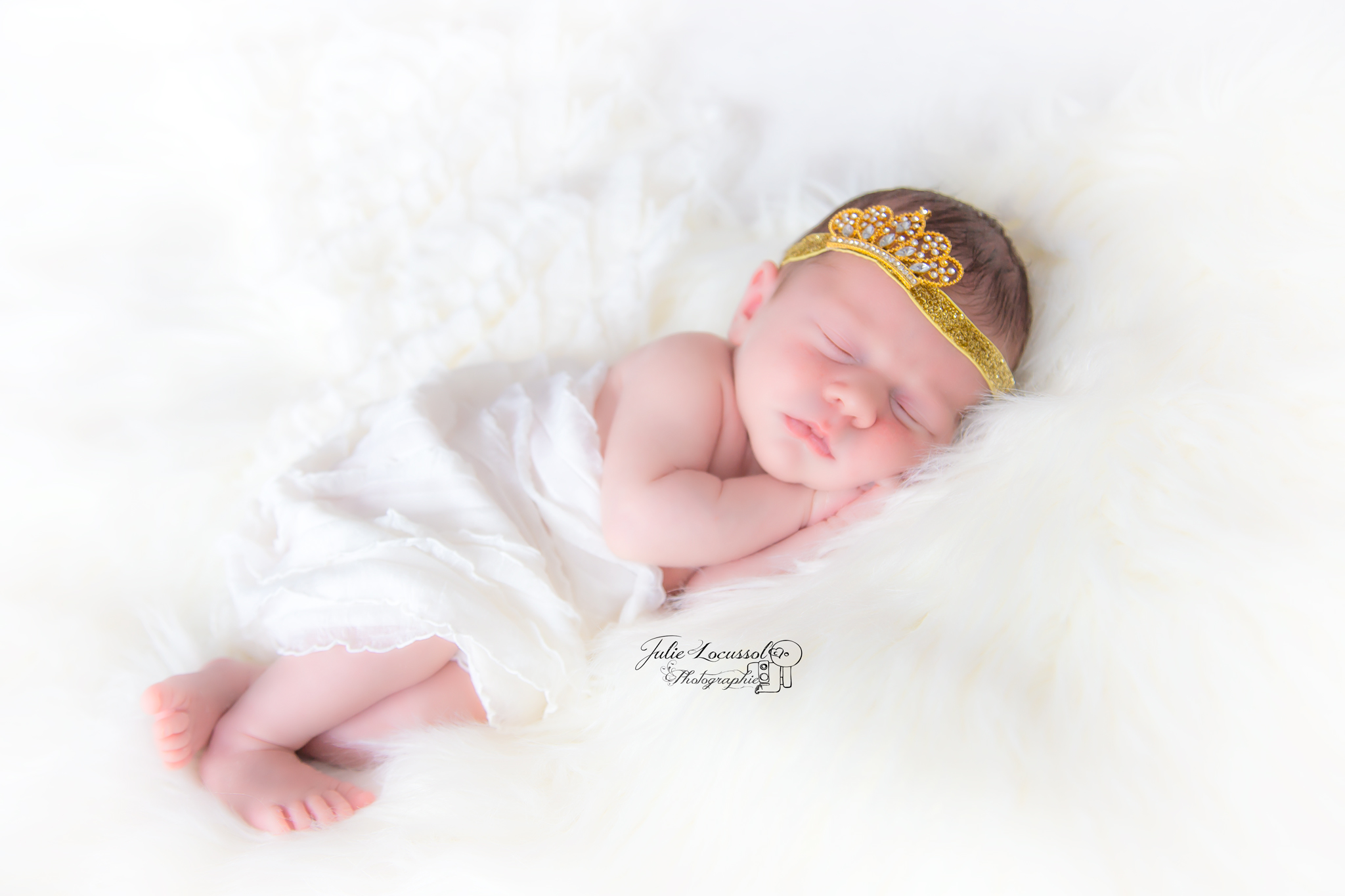 séance photo bébé princesse