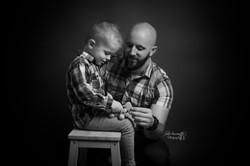 Photo papa et moi Charente
