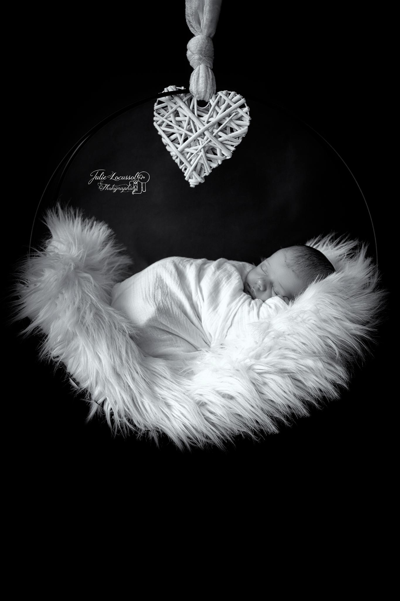 photo de bébé balançoire