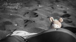 Shooting grossesse à la plage