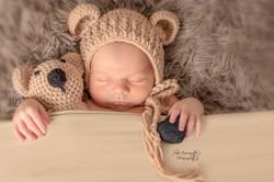 Bébé ourson coeur
