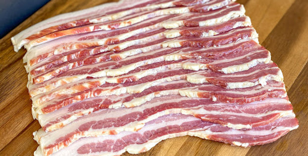 Thick Cut, Honey Cured Bacon