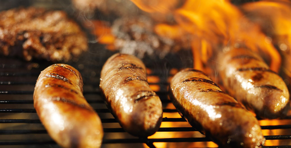 Natural Casing Beef Bratwurst