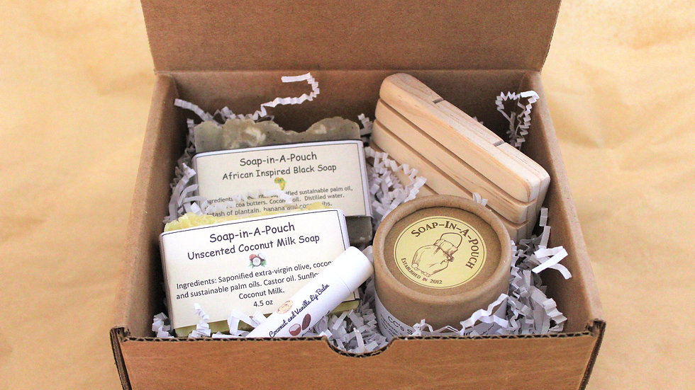 African Inspired Spa Bath Gift
