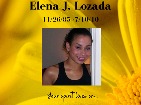 Your purchases help to support the Elena Jasmir Lozada Memorial Fund
