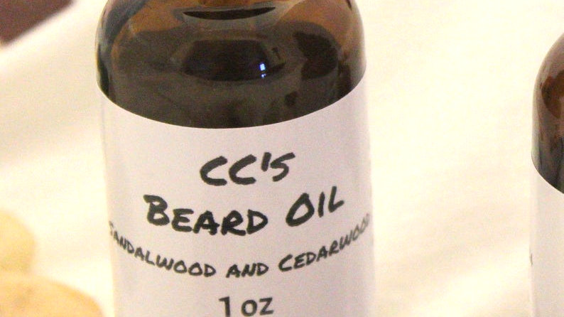 CCs Sandalwood and Cedarwood Beard Oil