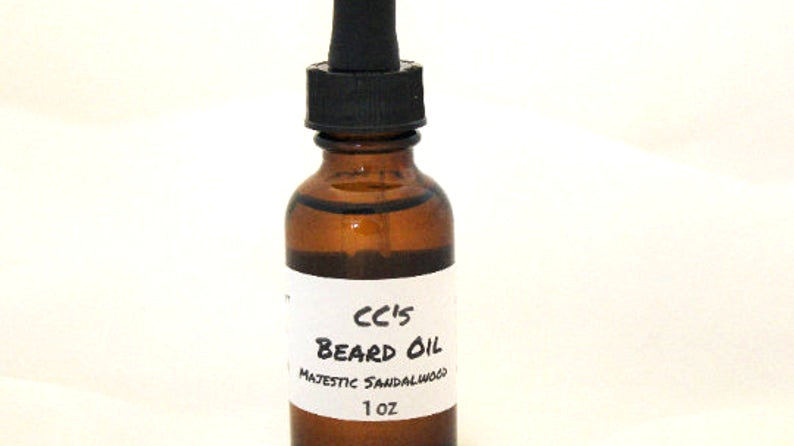 CCs Majestic Sandalwood Beard Oil
