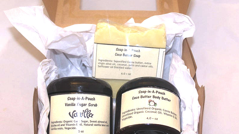 Cocoa and Vanilla Body GIft Set
