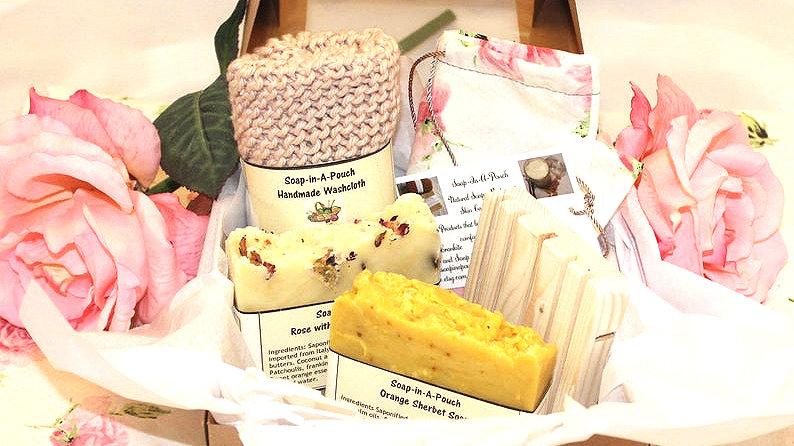 Beautiful Handmade Soap Gift Set
