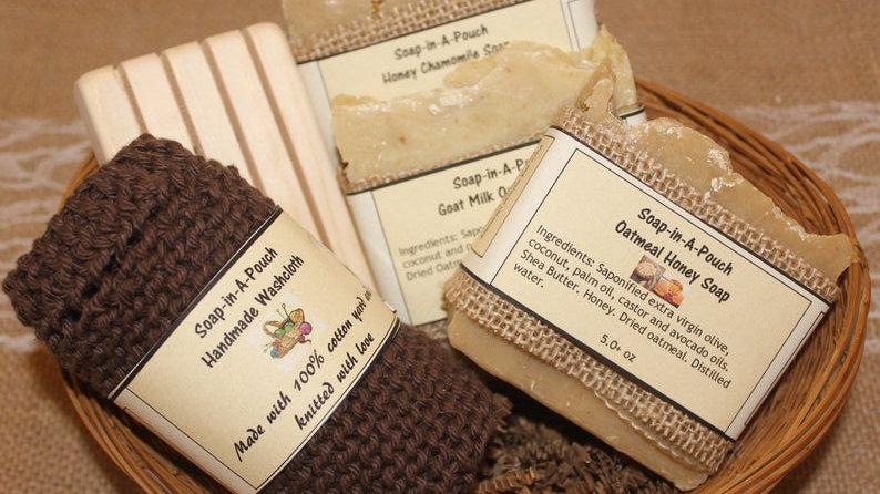 Six Piece Handmade Soap Gift Set