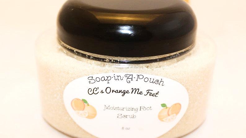 CC's Orange Me Feet Moisturizing Foot Scrub