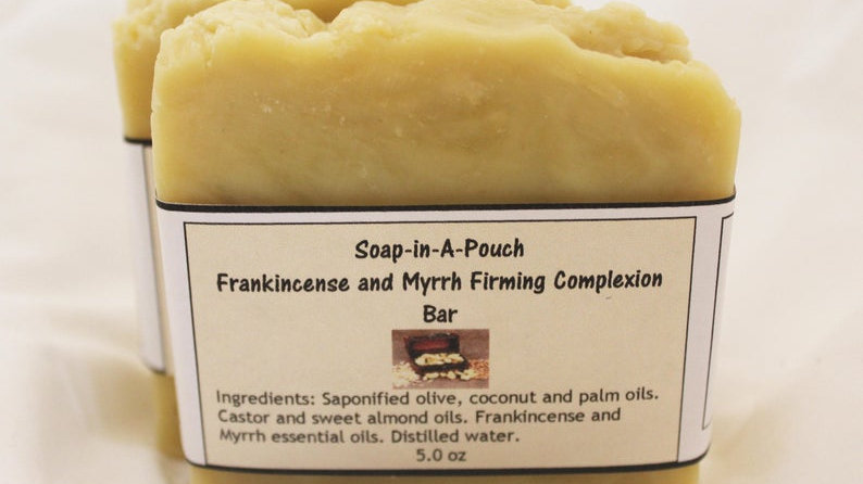 Frankincense and Myrrh Firming Complexion Bar