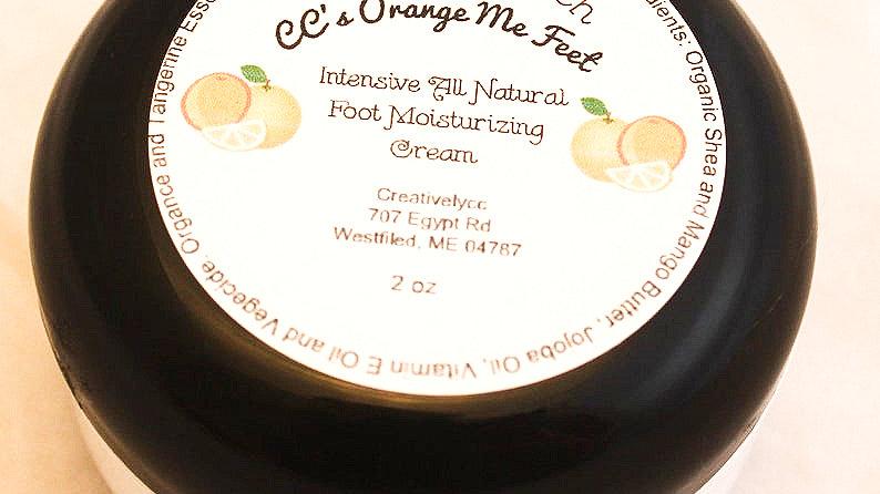 CC's Orange Me Feet Foot Moisturizing Cream