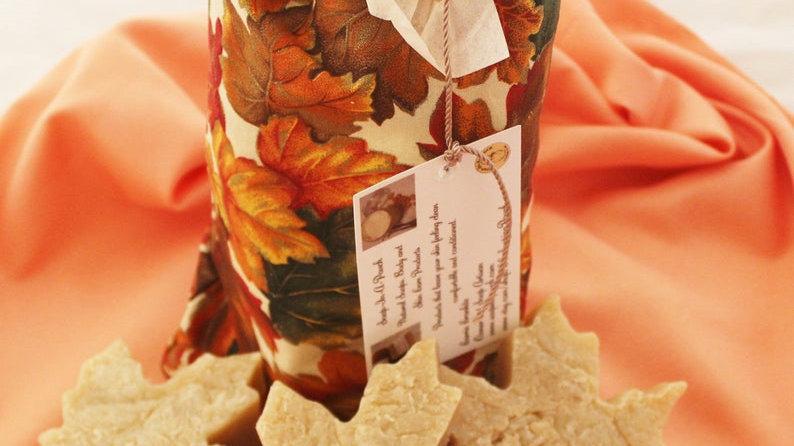 Autumn Maple Leaf Guess Soap